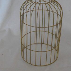 Carcasse abat-jour Dôme cage couleur Or