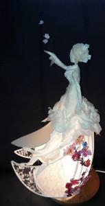 Marie Fillon Femme dans le vent