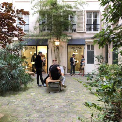 RISPAL au fond de la cour à Paris