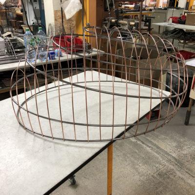 Un ovale de 90 cm