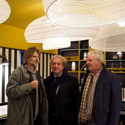Marc Zerkaulen, Jean-Michel Wilmotte, Pascal robin