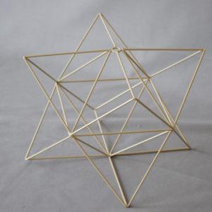 carcasse abat-jour étoile complexe